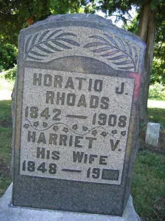 RHOADS, HORATIO J. - Union County, Ohio | HORATIO J. RHOADS - Ohio Gravestone Photos