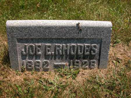 RHODES, JOE E. - Union County, Ohio | JOE E. RHODES - Ohio Gravestone Photos