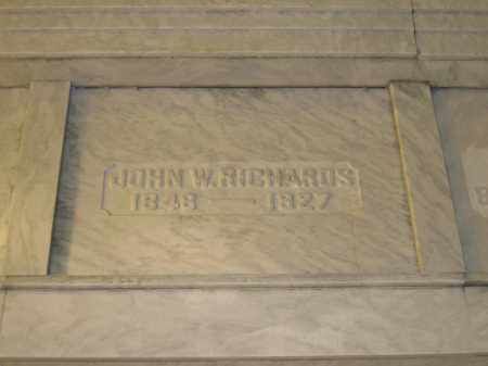 RICHARDS, JOHN W. - Union County, Ohio | JOHN W. RICHARDS - Ohio Gravestone Photos