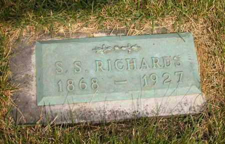 RICHARDS, S.S. - Union County, Ohio | S.S. RICHARDS - Ohio Gravestone Photos