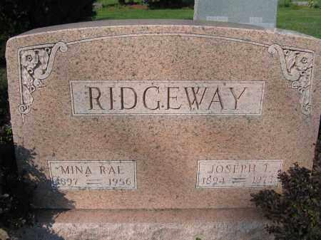 RIDGEWAY, MINA RAE - Union County, Ohio | MINA RAE RIDGEWAY - Ohio Gravestone Photos
