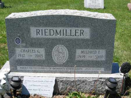 RIEDMILLER, MILDRED E. - Union County, Ohio | MILDRED E. RIEDMILLER - Ohio Gravestone Photos