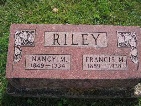 RILEY, FRANCIS M. - Union County, Ohio | FRANCIS M. RILEY - Ohio Gravestone Photos
