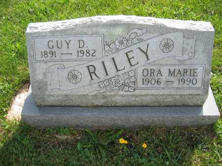 RILEY, ORA MARIE - Union County, Ohio | ORA MARIE RILEY - Ohio Gravestone Photos