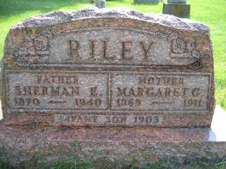 RILEY, SHERMAN E. - Union County, Ohio | SHERMAN E. RILEY - Ohio Gravestone Photos