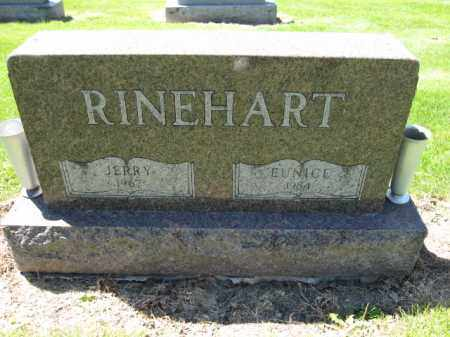 RINEHART, EUNICE - Union County, Ohio | EUNICE RINEHART - Ohio Gravestone Photos