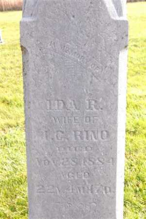 RINO, IDA R. - Union County, Ohio | IDA R. RINO - Ohio Gravestone Photos