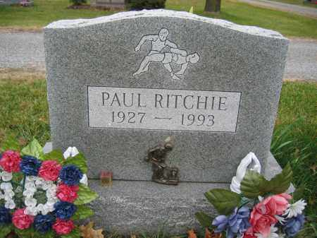 RITCHIE, PAUL - Union County, Ohio | PAUL RITCHIE - Ohio Gravestone Photos