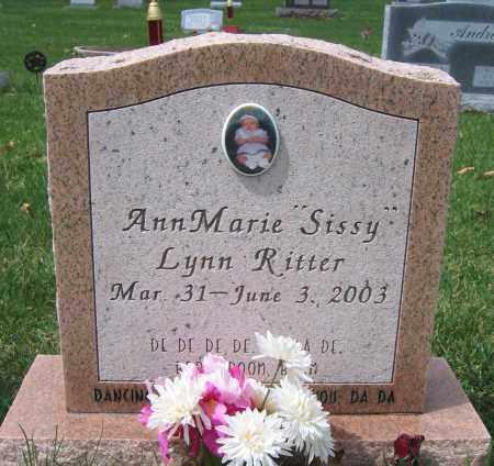 RITTER, ANN MARIE LYNN - Union County, Ohio | ANN MARIE LYNN RITTER - Ohio Gravestone Photos