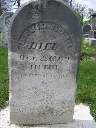 ROBB, DAVID - Union County, Ohio | DAVID ROBB - Ohio Gravestone Photos