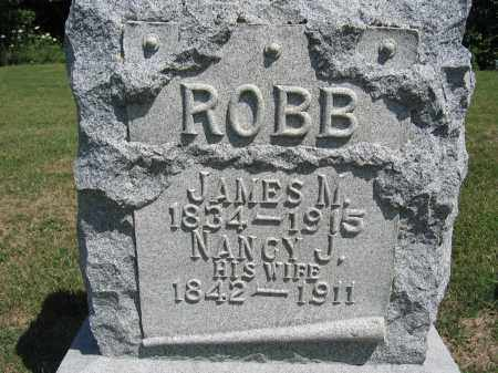 ROBB, NANCY J. - Union County, Ohio | NANCY J. ROBB - Ohio Gravestone Photos