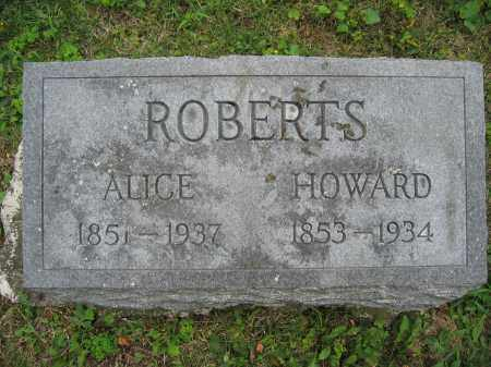 ROBERTS, ALICE - Union County, Ohio | ALICE ROBERTS - Ohio Gravestone Photos