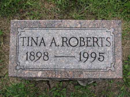 ROBERTS, TINA A - Union County, Ohio | TINA A ROBERTS - Ohio Gravestone Photos