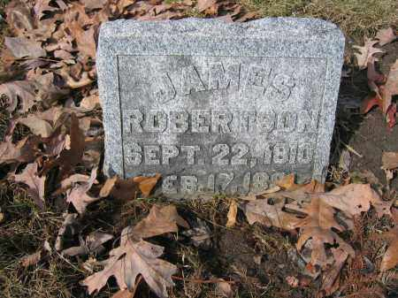 ROBERTSON, JAMES - Union County, Ohio | JAMES ROBERTSON - Ohio Gravestone Photos