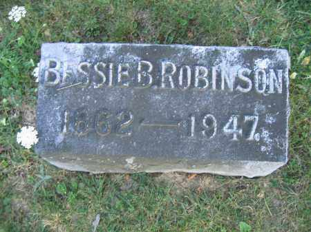 ROBINSON, BESSIE B. - Union County, Ohio | BESSIE B. ROBINSON - Ohio Gravestone Photos