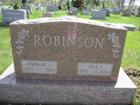 ROBINSON, BERNARD A. - Union County, Ohio | BERNARD A. ROBINSON - Ohio Gravestone Photos