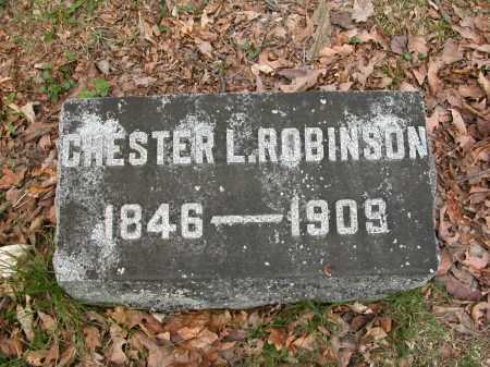 ROBINSON, CHESTER L. - Union County, Ohio | CHESTER L. ROBINSON - Ohio Gravestone Photos