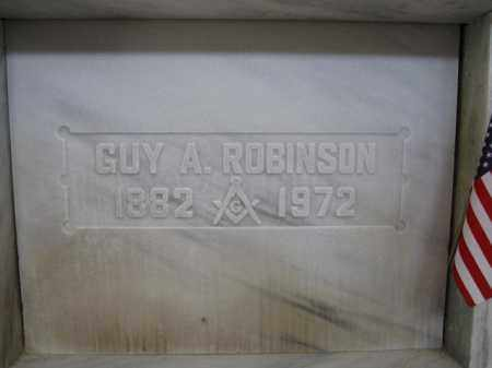 ROBINSON, GUY A. - Union County, Ohio | GUY A. ROBINSON - Ohio Gravestone Photos