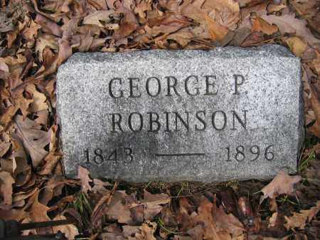 ROBINSON, GEORGE P. - Union County, Ohio | GEORGE P. ROBINSON - Ohio Gravestone Photos