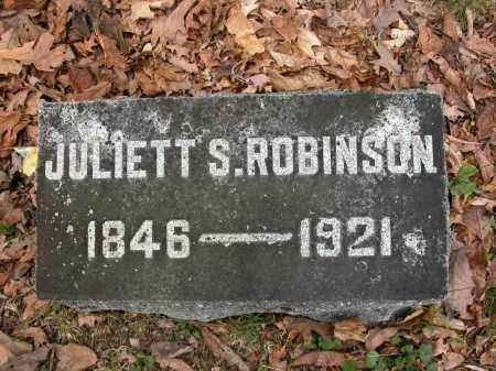 ROBINSON, JULIETT S. - Union County, Ohio | JULIETT S. ROBINSON - Ohio Gravestone Photos