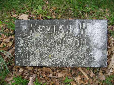 ROBINSON, KEZIAH W. - Union County, Ohio | KEZIAH W. ROBINSON - Ohio Gravestone Photos
