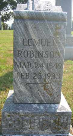 ROBINSON, LEMUEL - Union County, Ohio | LEMUEL ROBINSON - Ohio Gravestone Photos