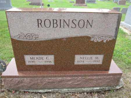 ROBINSON, MEADE C. - Union County, Ohio | MEADE C. ROBINSON - Ohio Gravestone Photos