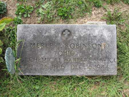 ROBINSON, MERLE J. - Union County, Ohio | MERLE J. ROBINSON - Ohio Gravestone Photos