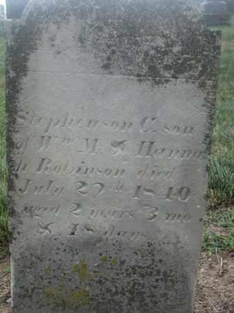 ROBINSON, STEPHENSON C. - Union County, Ohio   STEPHENSON C. ROBINSON - Ohio Gravestone Photos