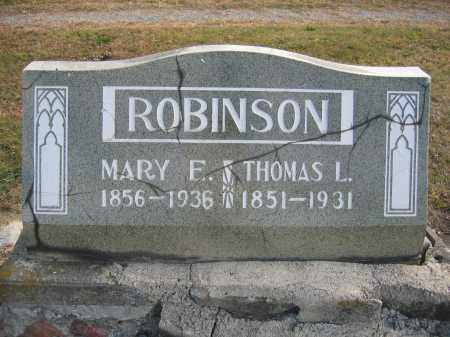 ROBINSON, THOMAS LAFAYETTE - Union County, Ohio | THOMAS LAFAYETTE ROBINSON - Ohio Gravestone Photos