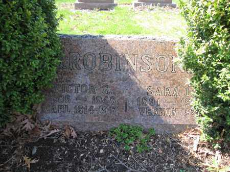 ROBINSON, CARL - Union County, Ohio | CARL ROBINSON - Ohio Gravestone Photos
