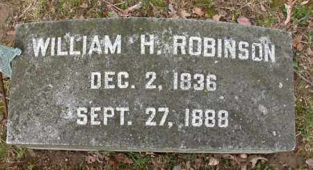 ROBINSON, WILLIAM H. - Union County, Ohio | WILLIAM H. ROBINSON - Ohio Gravestone Photos