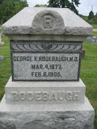 RODEBAUGH, HENRY A. - Union County, Ohio | HENRY A. RODEBAUGH - Ohio Gravestone Photos