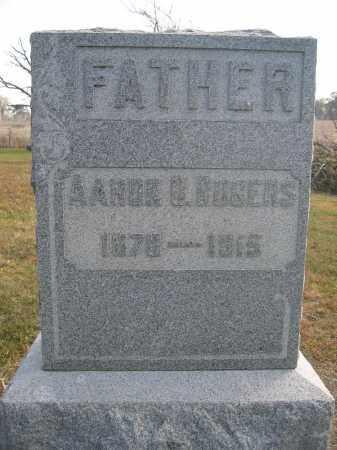 ROGERS, AARON D. - Union County, Ohio | AARON D. ROGERS - Ohio Gravestone Photos