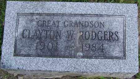 ROGERS, CLAYTON W - Union County, Ohio | CLAYTON W ROGERS - Ohio Gravestone Photos