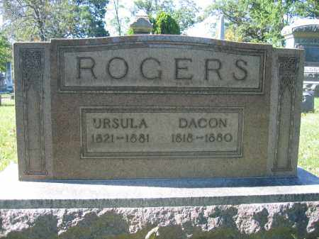 ROGERS, URSULA - Union County, Ohio | URSULA ROGERS - Ohio Gravestone Photos