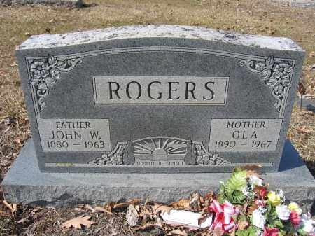 ROGERS, OLA - Union County, Ohio | OLA ROGERS - Ohio Gravestone Photos