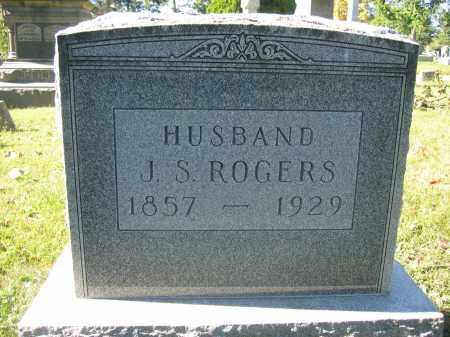 ROGERS, J.S. - Union County, Ohio   J.S. ROGERS - Ohio Gravestone Photos