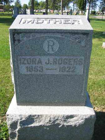 ROGERS, ZORA J. - Union County, Ohio | ZORA J. ROGERS - Ohio Gravestone Photos