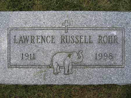 ROHR, LAWRENCE RUSSELL - Union County, Ohio | LAWRENCE RUSSELL ROHR - Ohio Gravestone Photos