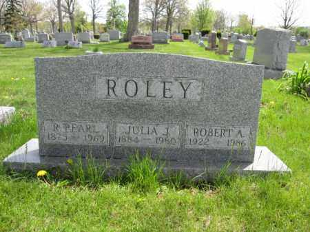 ROLEY, R. PEARL - Union County, Ohio | R. PEARL ROLEY - Ohio Gravestone Photos