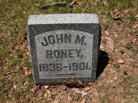 RONEY, JOHN M. - Union County, Ohio | JOHN M. RONEY - Ohio Gravestone Photos