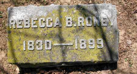 RONEY, REBECCA B. - Union County, Ohio | REBECCA B. RONEY - Ohio Gravestone Photos