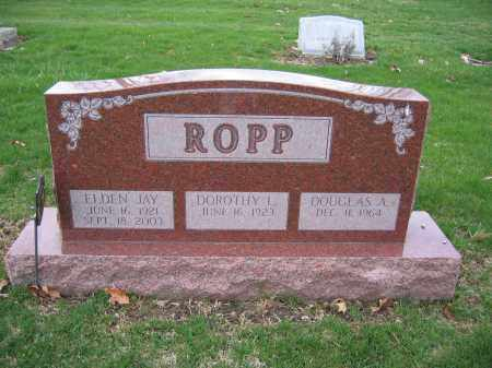 ROPP, ELDEN JAY - Union County, Ohio | ELDEN JAY ROPP - Ohio Gravestone Photos