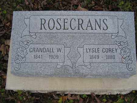 ROSECRANS, CRANDALL W. - Union County, Ohio | CRANDALL W. ROSECRANS - Ohio Gravestone Photos