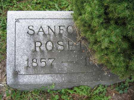 ROSETTE, SANFORD - Union County, Ohio | SANFORD ROSETTE - Ohio Gravestone Photos