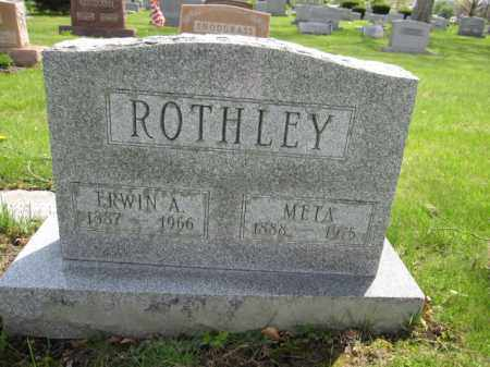 ROTHLEY, ERWIN A. - Union County, Ohio | ERWIN A. ROTHLEY - Ohio Gravestone Photos