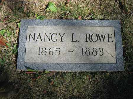 ROWE, NANCY L. - Union County, Ohio | NANCY L. ROWE - Ohio Gravestone Photos