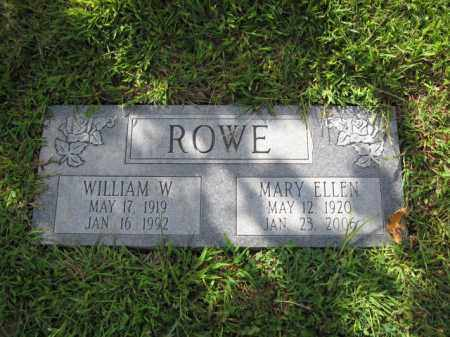 ROWE, MARY ELLEN - Union County, Ohio | MARY ELLEN ROWE - Ohio Gravestone Photos