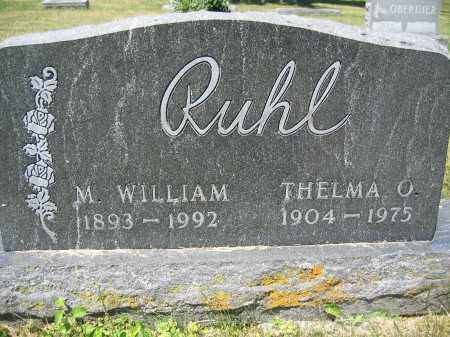 RUHL, THELMA O. - Union County, Ohio | THELMA O. RUHL - Ohio Gravestone Photos